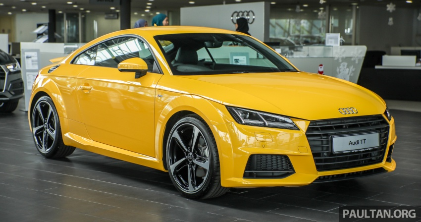Audi TT 2.0 TFSI Black Edition launched – RM317,400 Image #754445