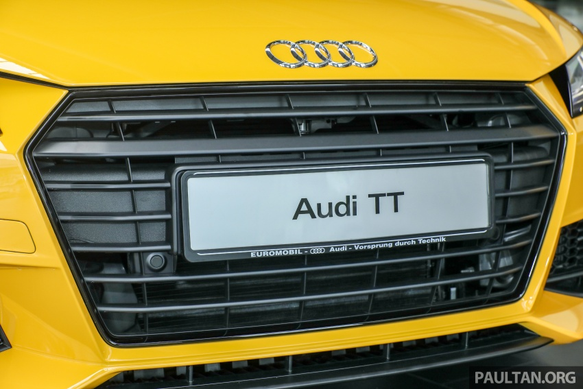 Audi TT 2.0 TFSI Black Edition launched – RM317,400 Image #754456
