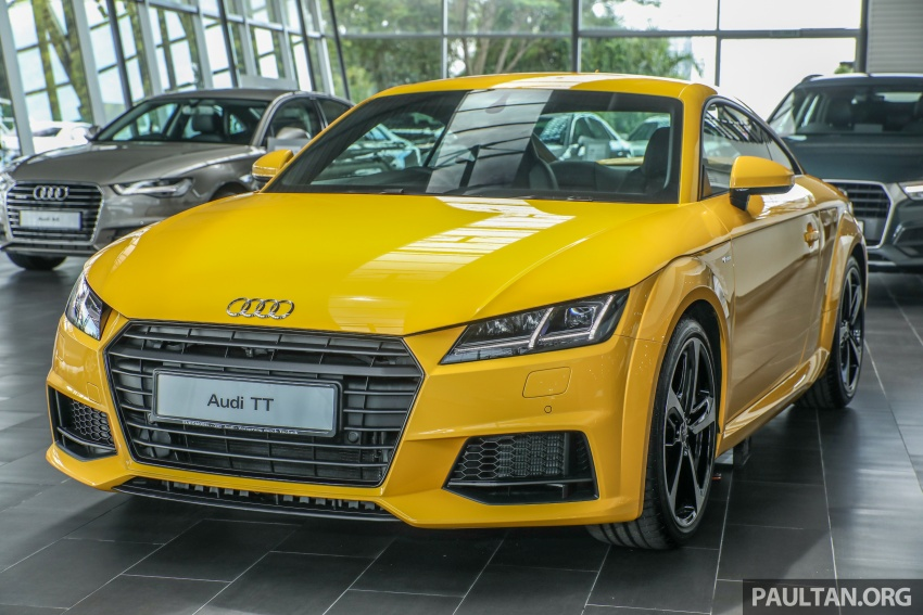 Audi TT 2.0 TFSI Black Edition launched – RM317,400 Image #754446