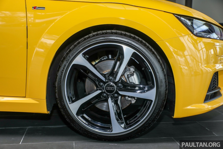Audi TT 2.0 TFSI Black Edition launched – RM317,400 Image #754464