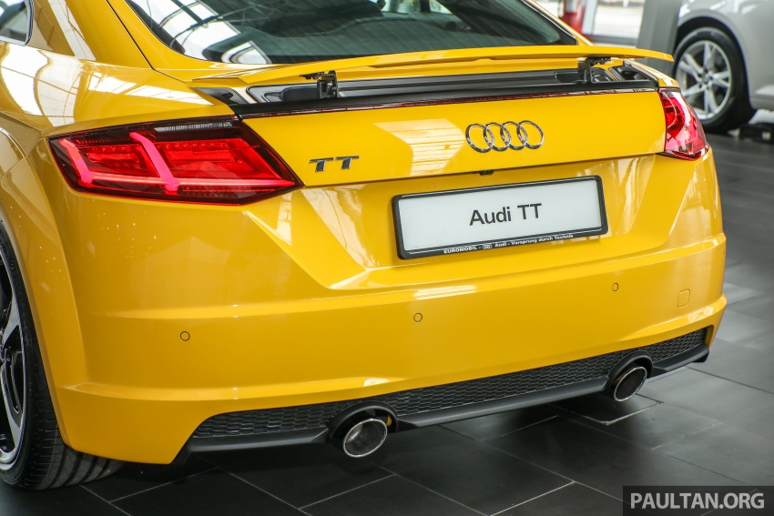 Audi TT 2.0 TFSI Black Edition launched – RM317,400 Image #754466