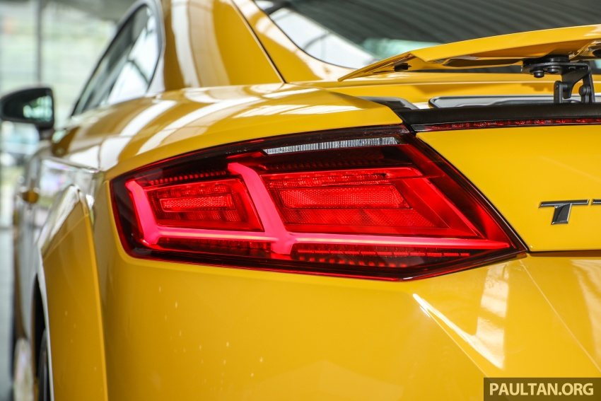 Audi TT 2.0 TFSI Black Edition launched – RM317,400 Image #754467