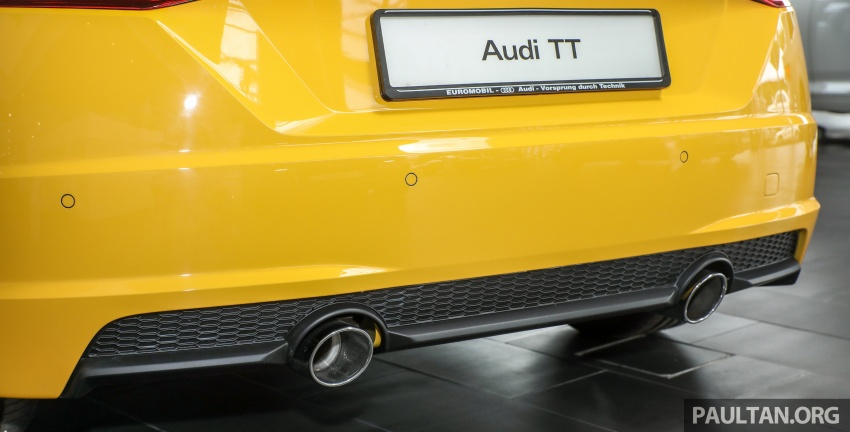 Audi TT 2.0 TFSI Black Edition launched – RM317,400 Image #754471