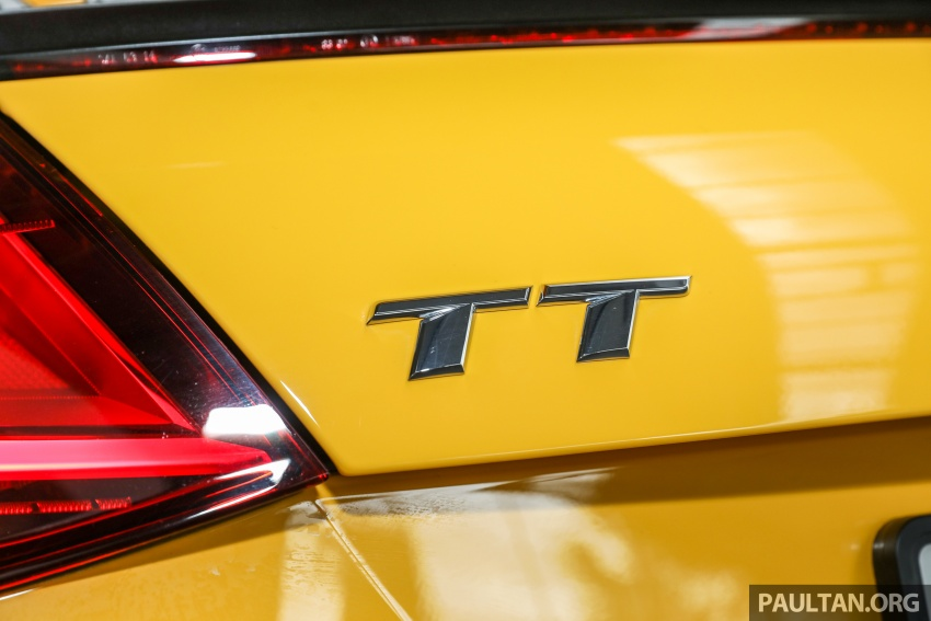 Audi TT 2.0 TFSI Black Edition launched – RM317,400 Image #754472