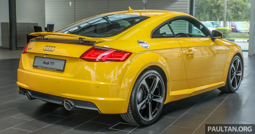 Audi TT 2.0 TFSI Black Edition launched – RM317,400 Image #754447