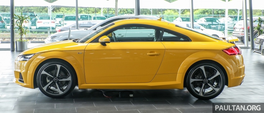 Audi TT 2.0 TFSI Black Edition launched – RM317,400 Image #754449