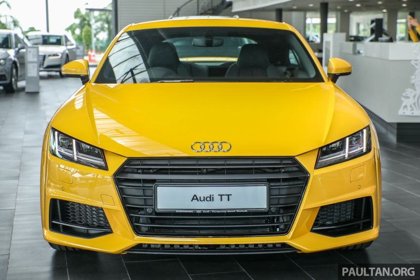Audi TT 2.0 TFSI Black Edition launched – RM317,400 Image #754450