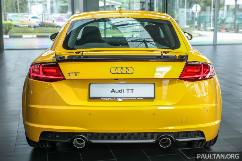 Audi TT 2.0 TFSI Black Edition launched – RM317,400 Image #754451