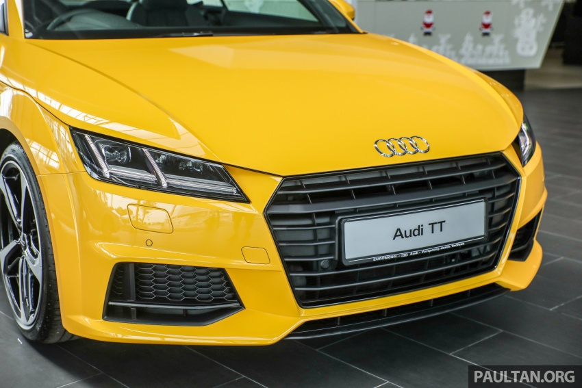 Audi TT 2.0 TFSI Black Edition launched – RM317,400 Image #754452