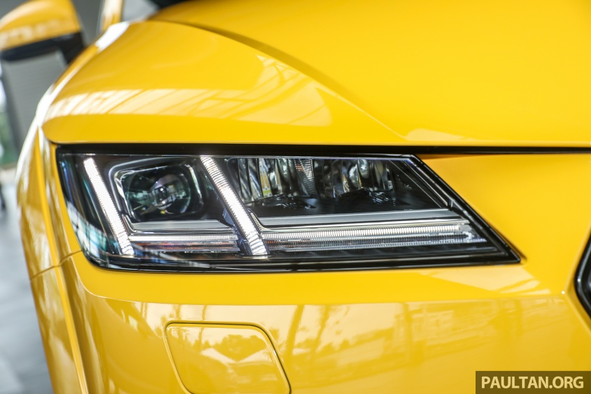 Audi TT 2.0 TFSI Black Edition launched – RM317,400 Image #754453