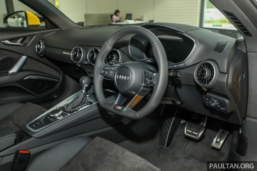 Audi TT 2.0 TFSI Black Edition launched – RM317,400 Image #754479