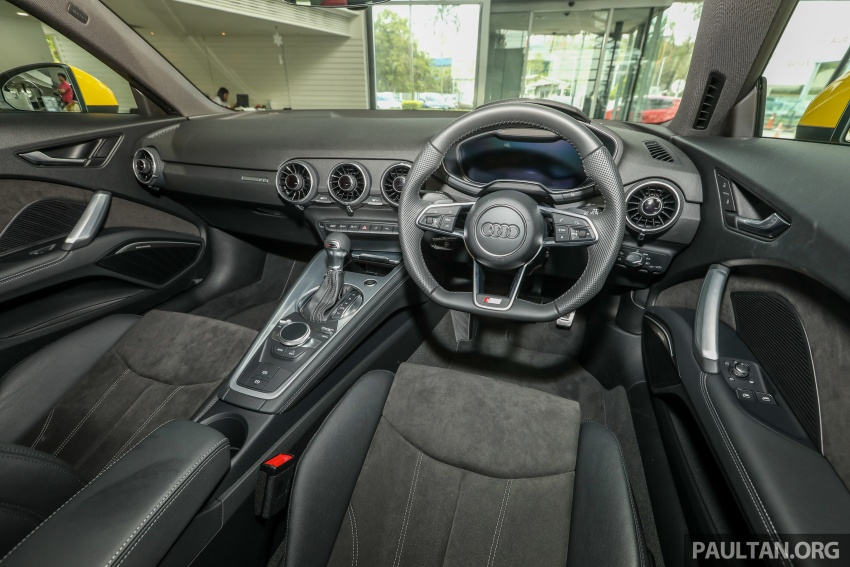 Audi TT 2.0 TFSI Black Edition launched – RM317,400 Image #754498