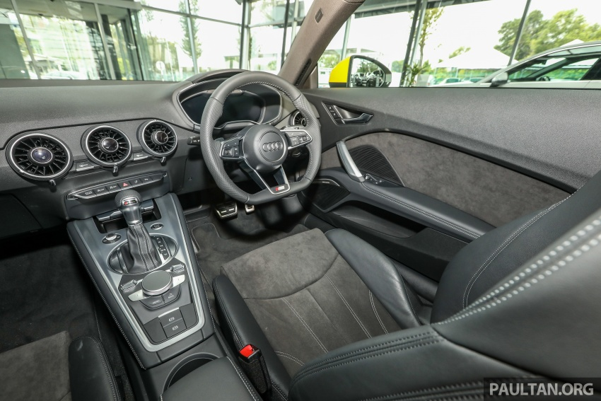 Audi TT 2.0 TFSI Black Edition launched – RM317,400 Image #754499