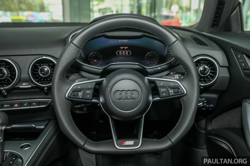 Audi TT 2.0 TFSI Black Edition launched – RM317,400 Image #754480