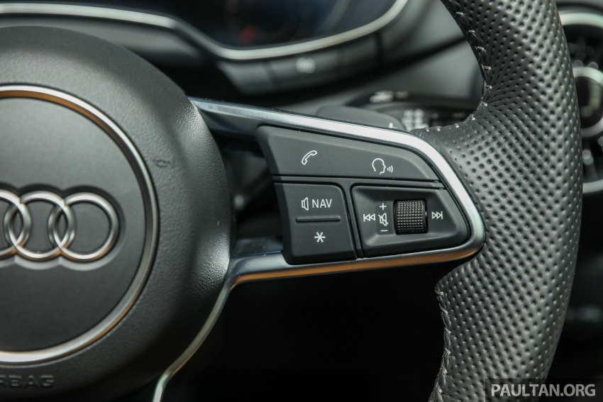 Audi TT 2.0 TFSI Black Edition launched – RM317,400 Image #754482