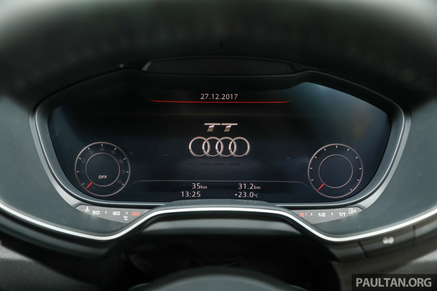 Audi TT 2.0 TFSI Black Edition launched – RM317,400 Image #754485