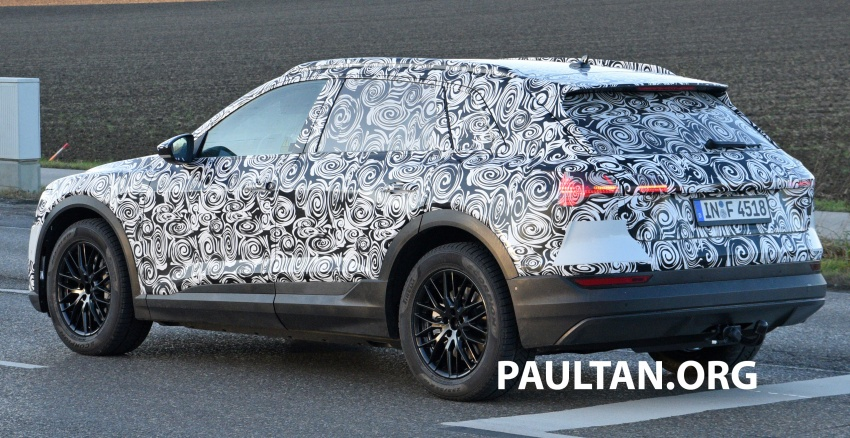 SPIED: Audi e-tron quattro edges closer to production Image #751858