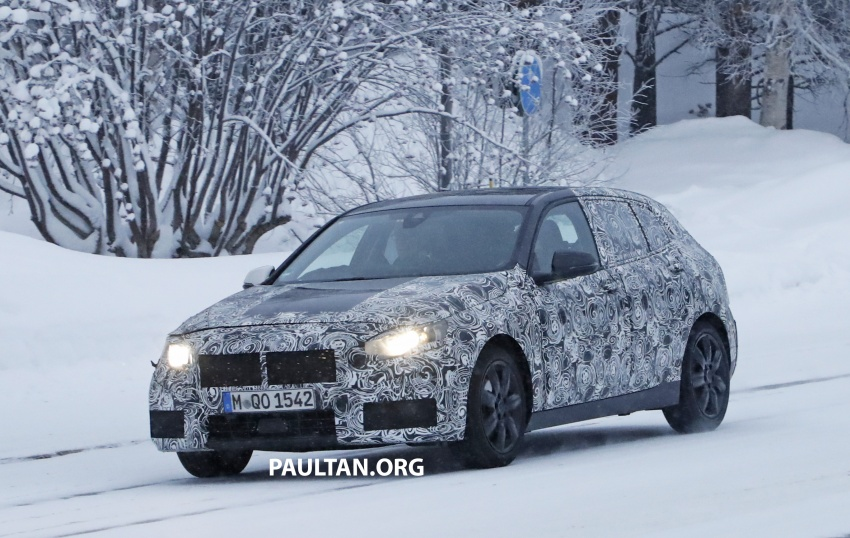 SPYSHOTS: BMW 1 Series goes testing out in the cold Image #754899