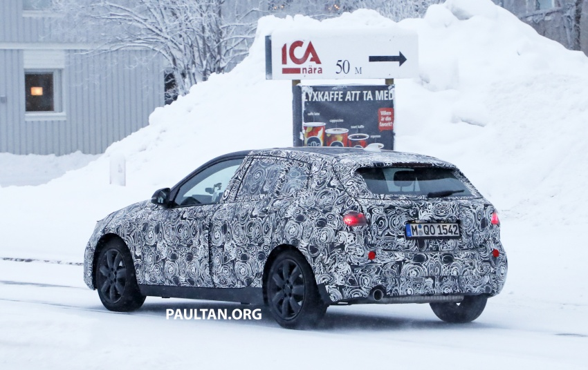 SPYSHOTS: BMW 1 Series goes testing out in the cold Image #754908