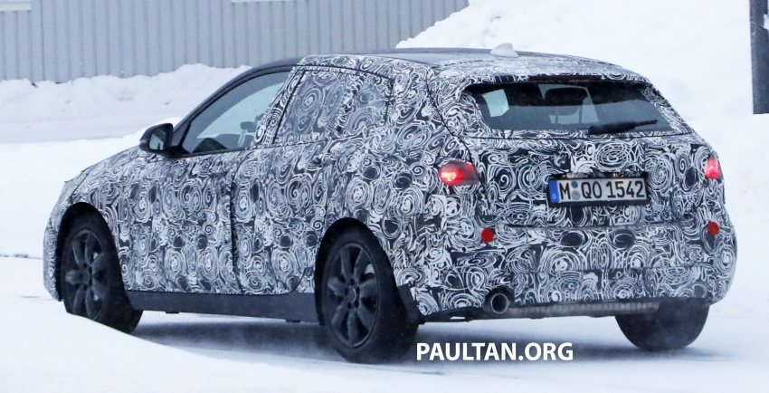 SPYSHOTS: BMW 1 Series goes testing out in the cold Image #754909