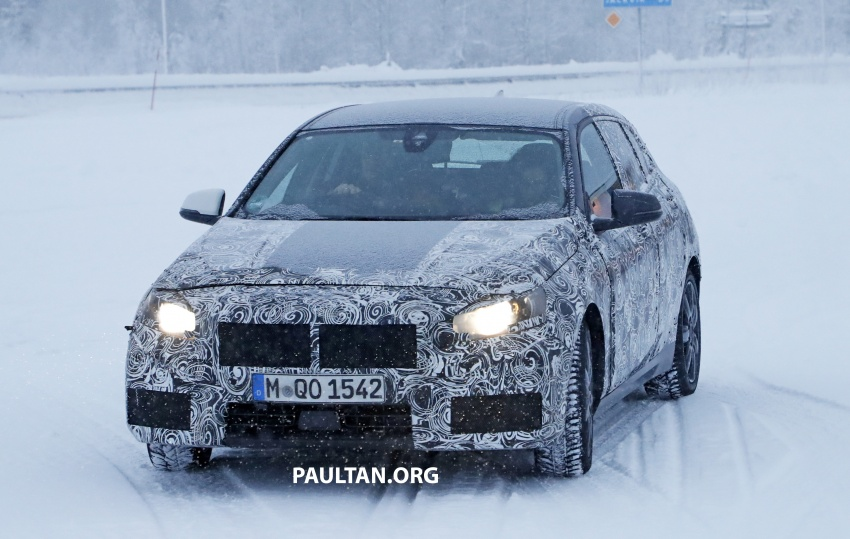 SPYSHOTS: BMW 1 Series goes testing out in the cold Image #754910