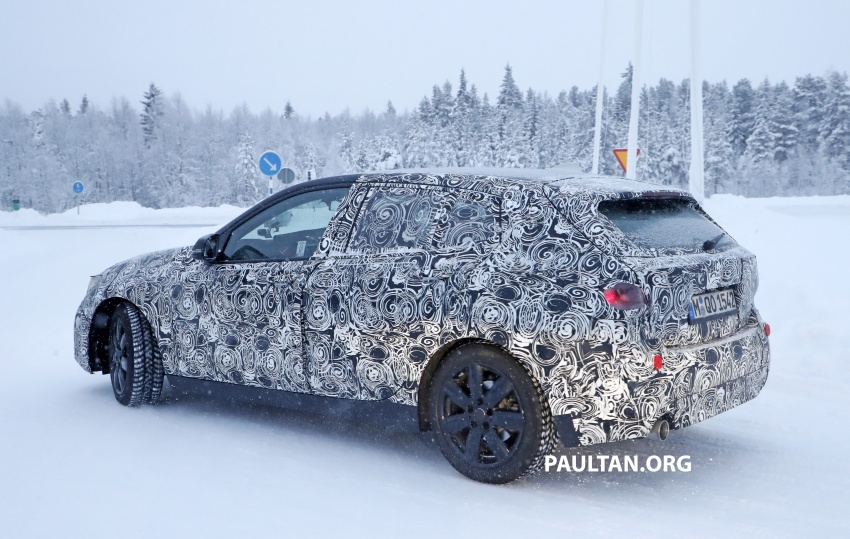 SPYSHOTS: BMW 1 Series goes testing out in the cold Image #754915