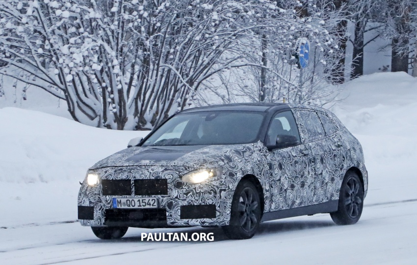 SPYSHOTS: BMW 1 Series goes testing out in the cold Image #754900