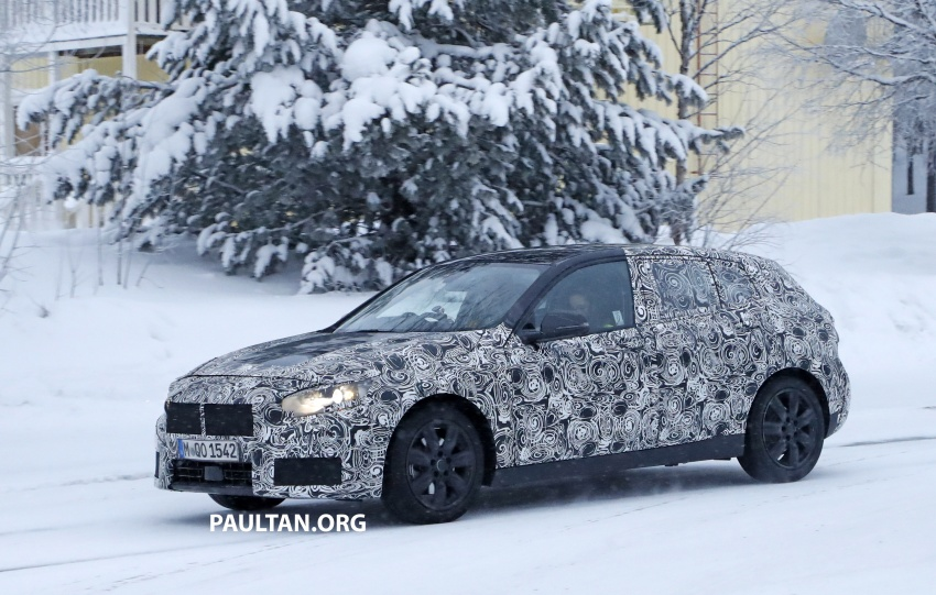 SPYSHOTS: BMW 1 Series goes testing out in the cold Image #754901