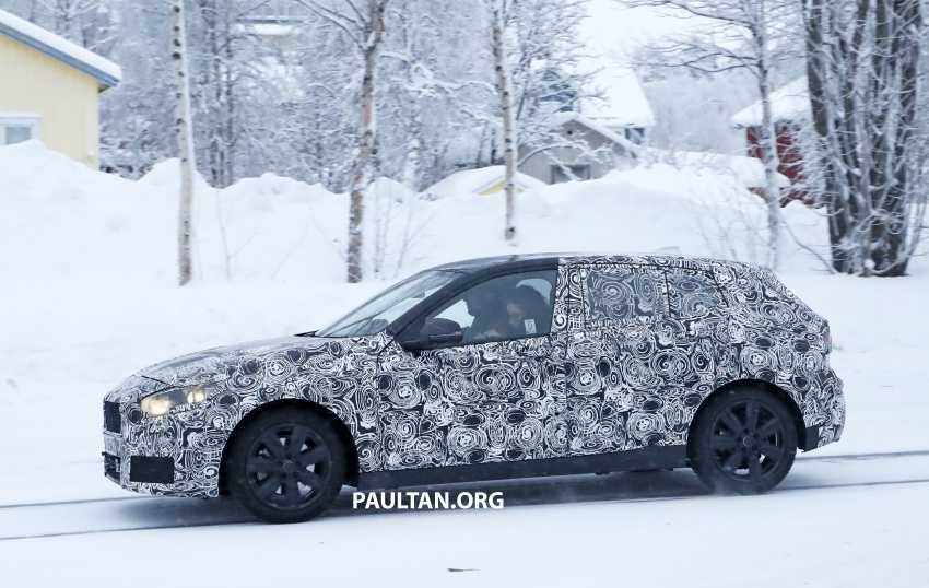 SPYSHOTS: BMW 1 Series goes testing out in the cold Image #754903
