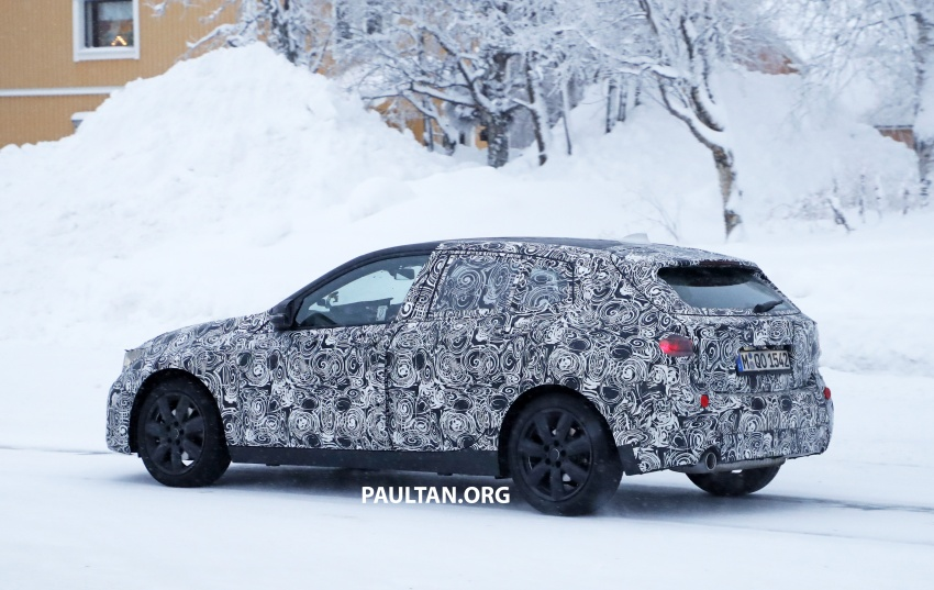 SPYSHOTS: BMW 1 Series goes testing out in the cold Image #754906