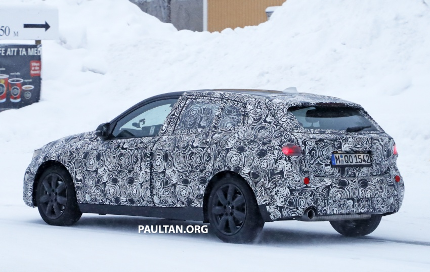 SPYSHOTS: BMW 1 Series goes testing out in the cold Image #754907