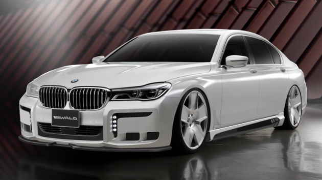 G12 BMW 7 Series Black Bison By Wald International