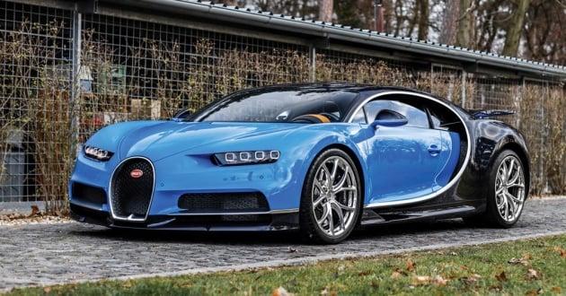 Bugatti Chiron heading to auction - 3 2 million euros