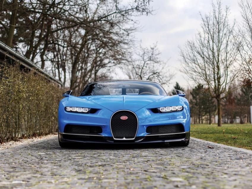 Bugatti Chiron heading to auction – 3.2 million euros Image #754865