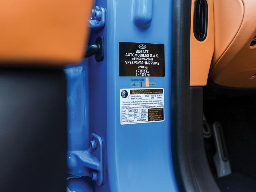 Bugatti Chiron heading to auction – 3.2 million euros Image #754878