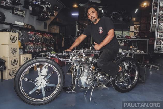 Malaysian Custom Eastern Bobber Bone X To Enter Amd Custom Bike Building Championship In Germany Paultan Org
