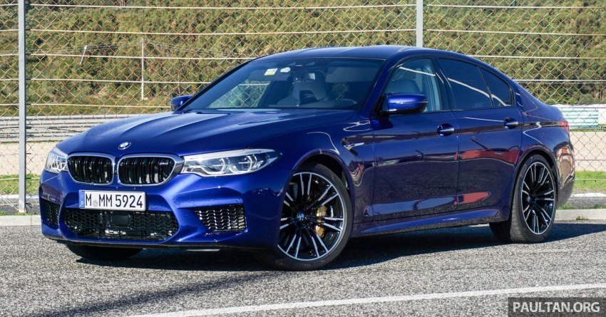DRIVEN: F90 BMW M5 review – the quintessential Image #746172