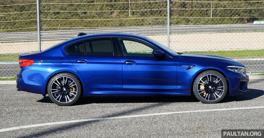 DRIVEN: F90 BMW M5 review – the quintessential Image #746181