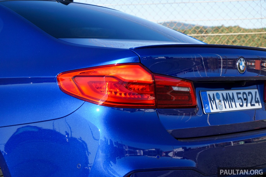 DRIVEN: F90 BMW M5 review – the quintessential Image #746186