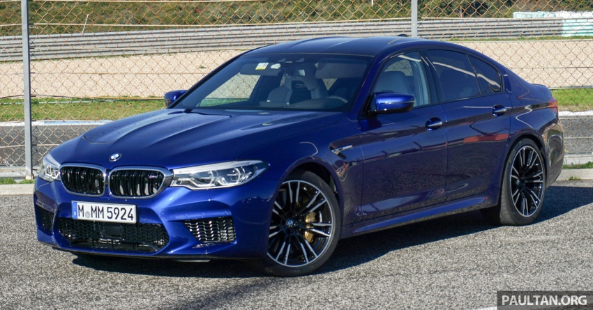 DRIVEN: F90 BMW M5 review – the quintessential Image #746173