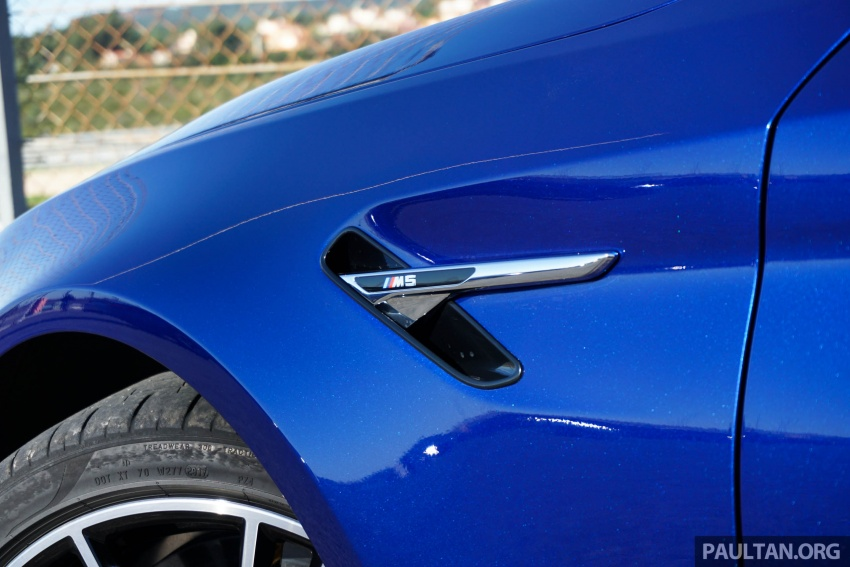 DRIVEN: F90 BMW M5 review – the quintessential Image #746194