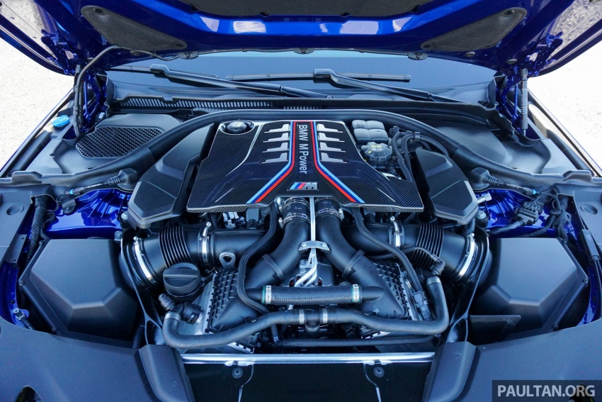DRIVEN: F90 BMW M5 review – the quintessential Image #746199