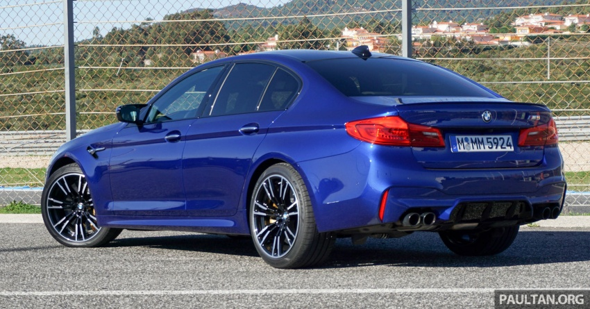 DRIVEN: F90 BMW M5 review – the quintessential Image #746174