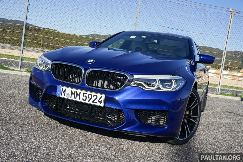 DRIVEN: F90 BMW M5 review – the quintessential Image #746201