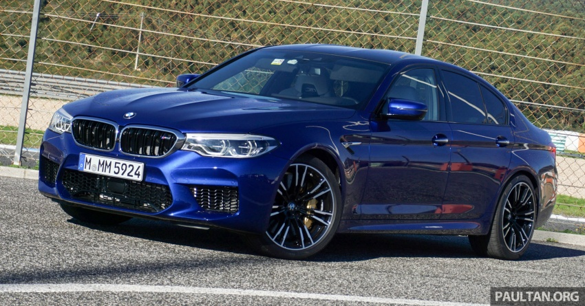 DRIVEN: F90 BMW M5 review – the quintessential Image #746203