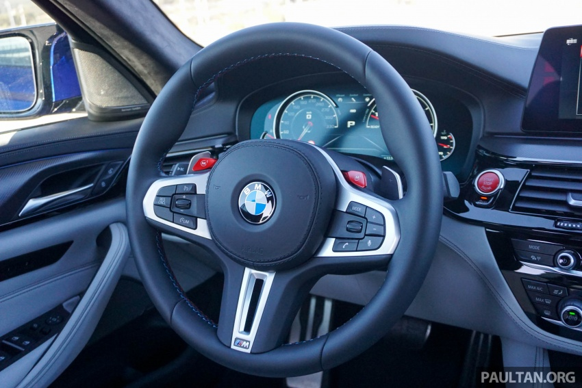 DRIVEN: F90 BMW M5 review – the quintessential Image #746205