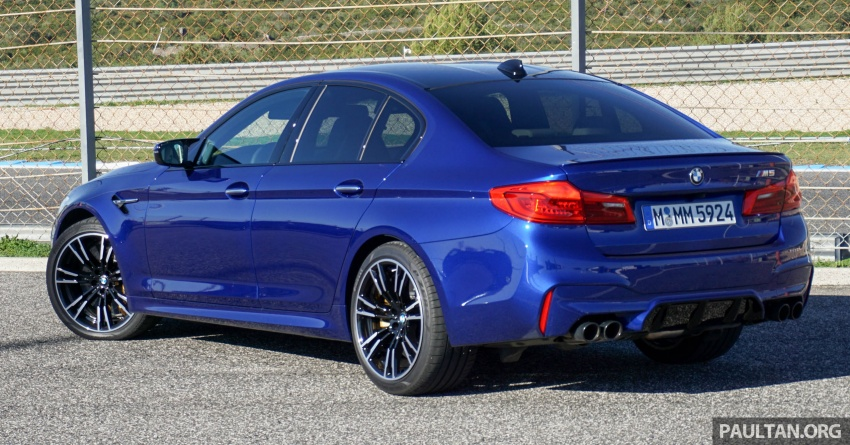 DRIVEN: F90 BMW M5 review – the quintessential Image #746175