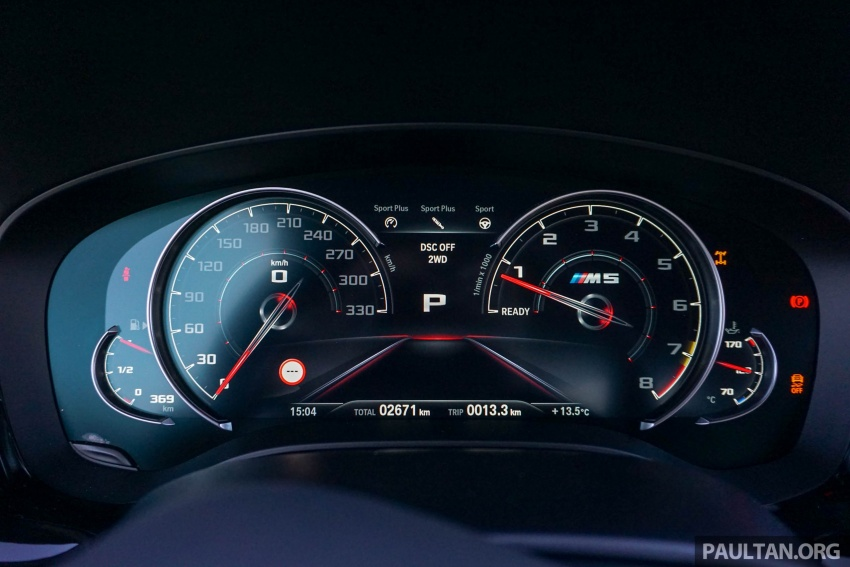 DRIVEN: F90 BMW M5 review – the quintessential Image #746228