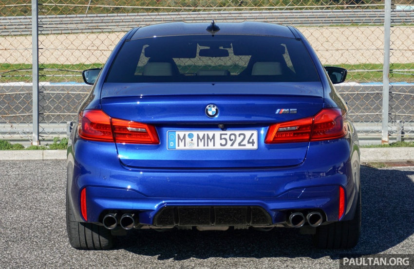 DRIVEN: F90 BMW M5 review – the quintessential Image #746178