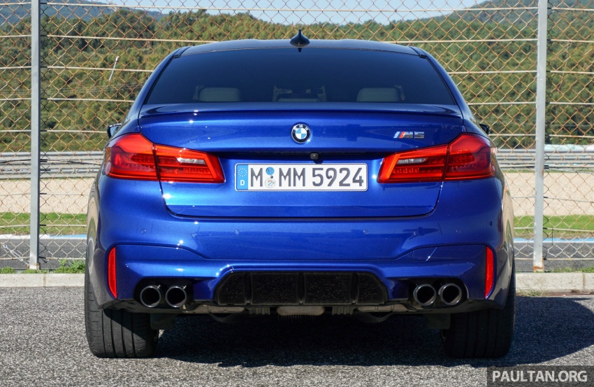 DRIVEN: F90 BMW M5 review – the quintessential Image #746179